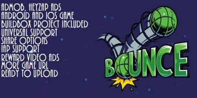 Bounce Hop - Buildbox Game Template