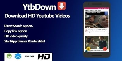 Ytbdown - HD Youtube Downloader Android