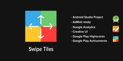 Swipe Tiles - Android Game Source Code