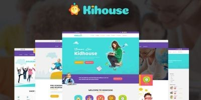 KidHouse - School Education WordPress Theme