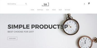 SA - Minimalist eCommerce Shopify Theme