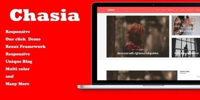 Chasia - Classic WordPress Blog Theme