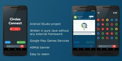 Circles Connect - Android Game Source Code