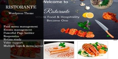 Ristorante - WordPress Theme