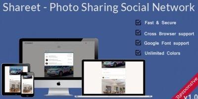 Shareet - Photo Sharing Social Network