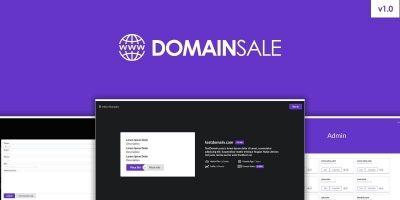 DomainSale PHP Script