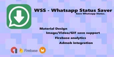Whatsapp Status Saver - Android App Source Code