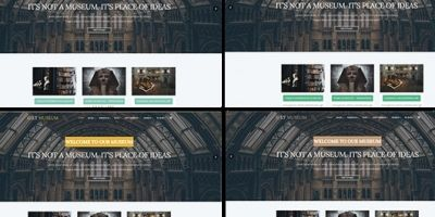 LT Museum – Museum WordPress Theme