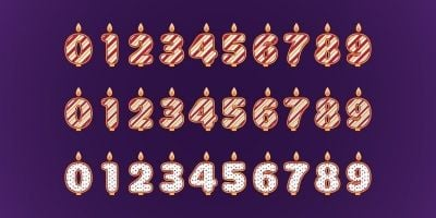 Candle Numbers