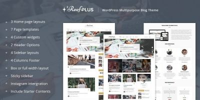 Reef Plus - WordPress Theme