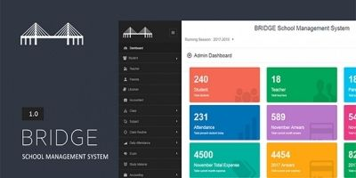 Bridge - School Management System PHP