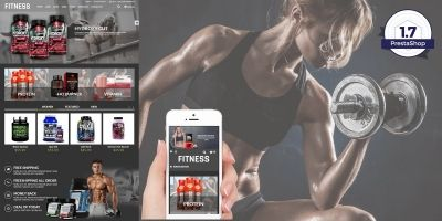 Fitness - Health And Medical PrestaShop Theme