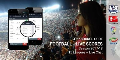 Live Score Football - Android App Template