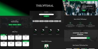 TheOptimal - Bootstrap Template