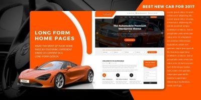 VW Automobile Pro - WordPress Theme