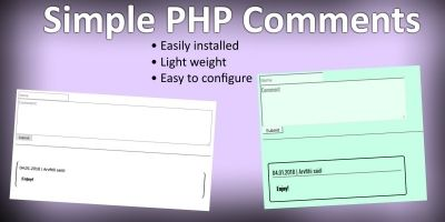 Simple PHP Comments