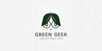 Green Geek - Logo Template