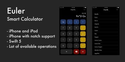 Euler Smart Calculator - iOS Source Code