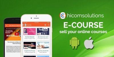 E-Course - iOS App Template