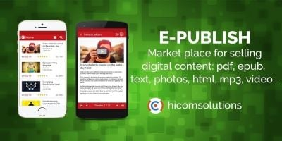 ePublish Digital Marketplace - iOS Source Code