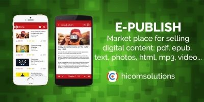 ePublish Marketplace - Android Source Code