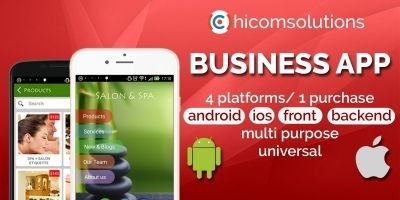 Business App - Android iOS App Templates