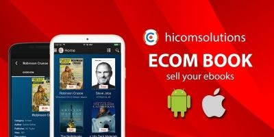 Ecom Book - Sell Ebooks Android Source Code