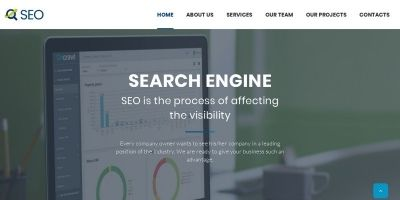 The SEO and Digital Marketing Agency Template