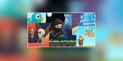 5 iOS Games Bundle - iOS Game Templates
