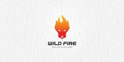 Wild Fire - Logo Template