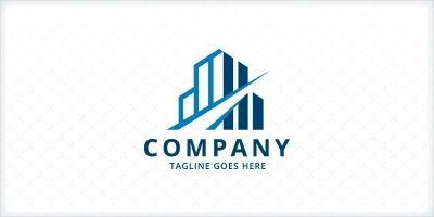 Building Construction - Logo Template