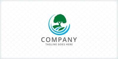 Landscape Tree - Logo Template