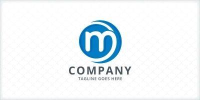 Crescent - Letter M Logo Template