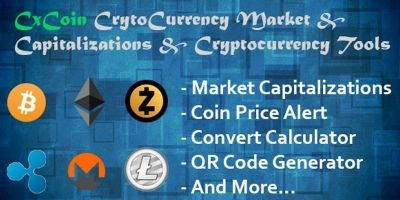 CxCoin - Cryptocurrency Tools PHP Script
