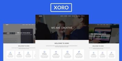 Xoro - Multipurpose HTML5 Template