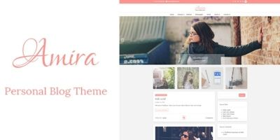 Amira - WordPress Personal Blog Theme