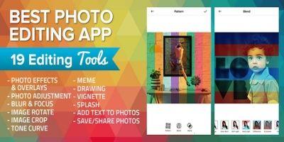 Photo Edit App iOS Source Code