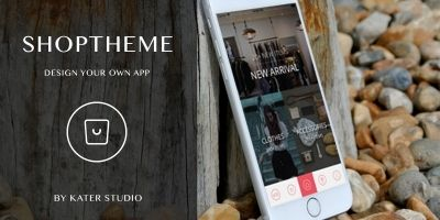 ShopTheme - iOS Xcode App Theme