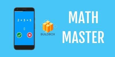 Math Master - Buildbox Template