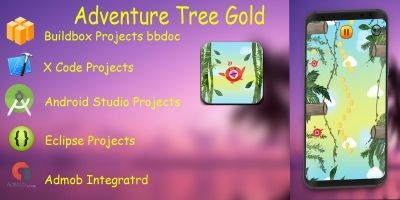 Adventure Tree Gold - Buildbox
