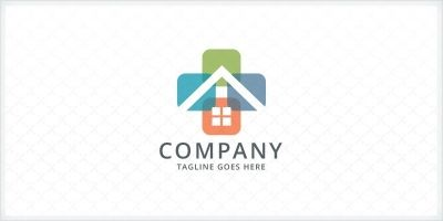 Home Space - Real Estate Logo
