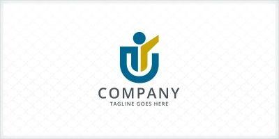 Victory - Letter U Logo