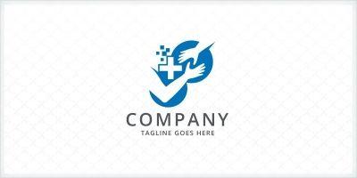 Medical Charity - Helping Hand Logo