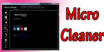 MicroCleaner - Full Application .NET