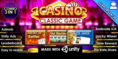 Casino Classic Game - Complete Unity Project