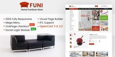 Funi - Multipurpose OpenCart Theme