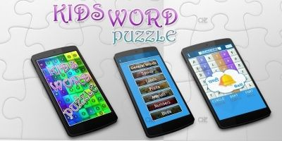 Kids Word Puzzle Android Studio Project