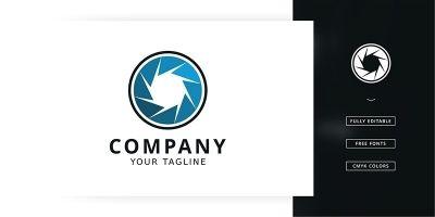 Creative Camera Logo Template