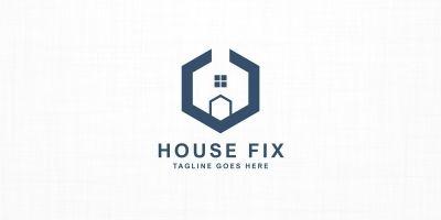 House Fix - Logo Template