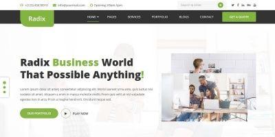 Radix - Multipurpose Consulting Template